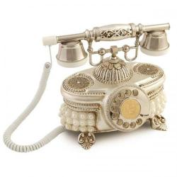 Venüs İncili Gümüş Telefon