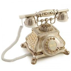Meltem İncili Gümüş Telefon