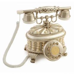 Gondol İncili Gümüş Varaklı Telefon