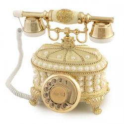 Gondol İncili Şampanya Telefon