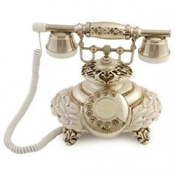 İtalyan Tombul Mercan Gümüş Telefon