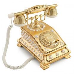 Büro İncili Altın Varaklı Telefon