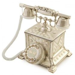 Konak incili Gümüş Telefon