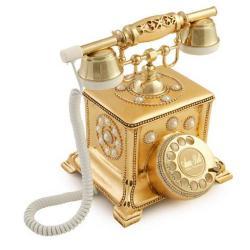 Konak incili Altın Varaklı Telefon