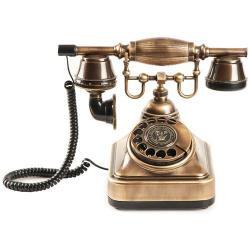 Anna Bell Klasik Eskitme Çevirmeli Telefon