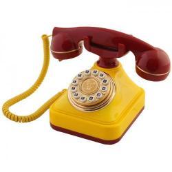 Sarı Kırmızı Klasik Tuşlu Telefon