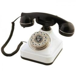 Siyah Beyaz Klasik Tuşlu Telefon