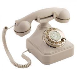 Anna Bell Kemik Çevirmeli Klasik Telefon