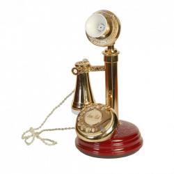 Bordo Antika Leylek Telefon