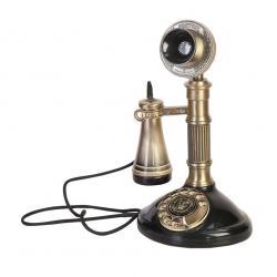 Leylek Antika Fransız Oval Telefon