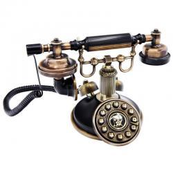 Klasik Siyah Eskitme Telefon