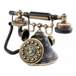 Klasik Siyah Eskitme Çan Telefon