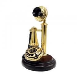 Klasik Leylek Ahşap Telefon