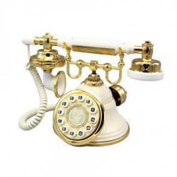 Klasik Krem Çan Telefon
