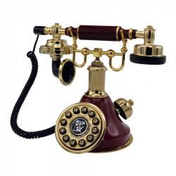 Bordo Çan Klasik Telefon